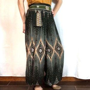 Pants - Harem Pant with Bells